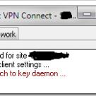 Failed to attach to key daemon Hatası